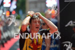 Sebastian Kienle at the finish of the Ironman European Championship…