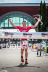Sam Appleton is victorious at the 2015 Ironman 70.3 Vineman…