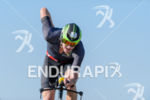 David Dellow competes during the bike leg of Challenge Roth…