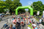Age group athletes are cheered by spectators at Solar Hill…