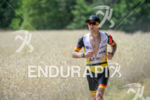 Nils Frommhold during the run leg of Challenge Roth in…
