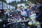 The pro transition area at the 2015 Ironman 70.3 Vineman…