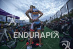 Mirinda Carfrae prepping for the race start at the 2015…