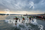 swim start of the 2015 Ironman Switzerland in Zuerich, Switzerland…