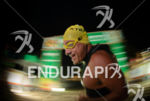 Athlete during the swim portion of the 2015 XTERRA Brazil…