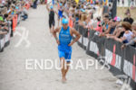 Andreas Dreitz after the swim of the Ironman 70.3 European…