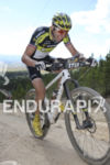 Jeremiah Bishop heads up Powerline at the 2015 Leadville 100…