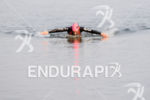 Mary Beth Ellis during the swim portion of the at…