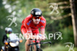 Paul Ambrose during the bike portion of the at the…