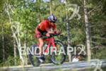Sarah Piampiano during the bike portion of the at the…
