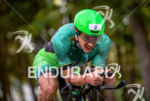 Lionel Sanders during the bike portion of the at the…