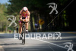 Mary Beth Ellis during the bike portion of the at…