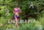 Karen Thibodeau during the run portion of the at the…