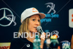 Daniela Ryf at the press conference of the 2015 Ironman…