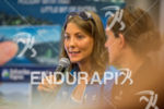 Eva Wutti at the press conference of the 2015 Ironman…