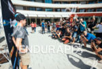 international press at the press conference of the 2015 Ironman…