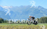 Ruedi Wild competes during the bike leg of the 2015…