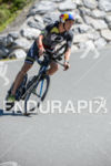 Jesse Thomas competes during the bike leg of the 2015…