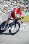 Sam Appleton competes during the bike leg of the 2015…