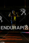 Athletes during the run leg of the inaugural 2015 Ironman…