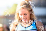 Magali Tisseyre prior to race start of the 2015 Ironman…