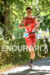Javier Gomez competes during the run leg of the 2015…