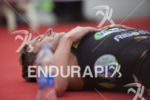 Greg Bennett (USA) recovers after a strong finish at the…