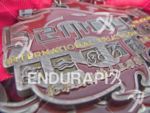 Medals wait for their new recipients at the 2015 Beijing…