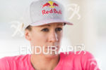 Daniela Ryf before the press conference of the 2015 Ironman…