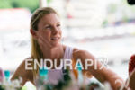 Leanda Cave before the press conference of the 2015 Ironman…
