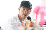 Frederik Van Lierde at the press conference of the 2015…