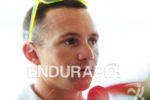 Ben Hoffman at the press conference of the 2015 Ironman…