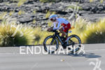 Brent McMahon (CAN) competes during the bike leg at the…