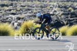 Michael Weiss (AUT) competes during the bike leg at the…