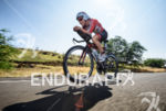 Liz Blatchford (AUS) competes during the bike leg at the…