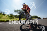 Daniela Ryf on the bike portion at the 2015 Ironman…