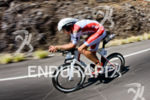 Jan Frodeno on the bike portion at the 2015 Ironman…