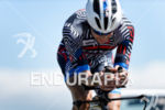 Timothy O'Donnell (USA) competes during the bike leg at the…