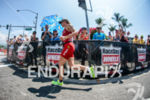 Daniela Ryf (CHE) competes during the run leg at the…