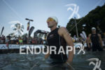 Tim Don prepares to start the swim start at the…