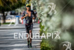 Santiago Ascenço during the run portion of the  2015 Ironman…