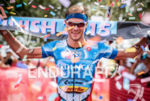 Michael Raelert wins the  2015 Ironman 70.3 Miami in Miami,…