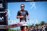 Kevin Collington (USA) finishes third at the 2015 Ironman 70.3…