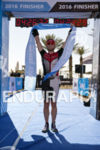 Ben Collins (USA) is victorious in the half distance Israman…