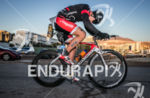 Andreas Wuenscher, (AUT) exits T1 and startrs the bike portion…