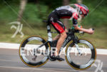 Tim Don during the bike portion of the 2016 Ironman…