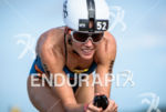 Magali Tisseyre during the bike  portion of the 2016 Ironman…
