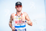 Leon Griffin during the  portion of the 2016 Ironman 70.3…