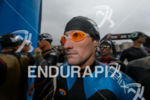 Tim Don (GBR) waits for the swim start at the…