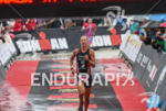Emma Pallant (GBR) at the finish  at the 2016 Ironman…